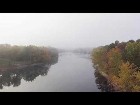Drone footage taken in Bedford, NH