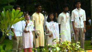 Janmakaarini Bhaaratham - Malayalam Group Song at IIT Madras during Indepedence day 2011 .MOV