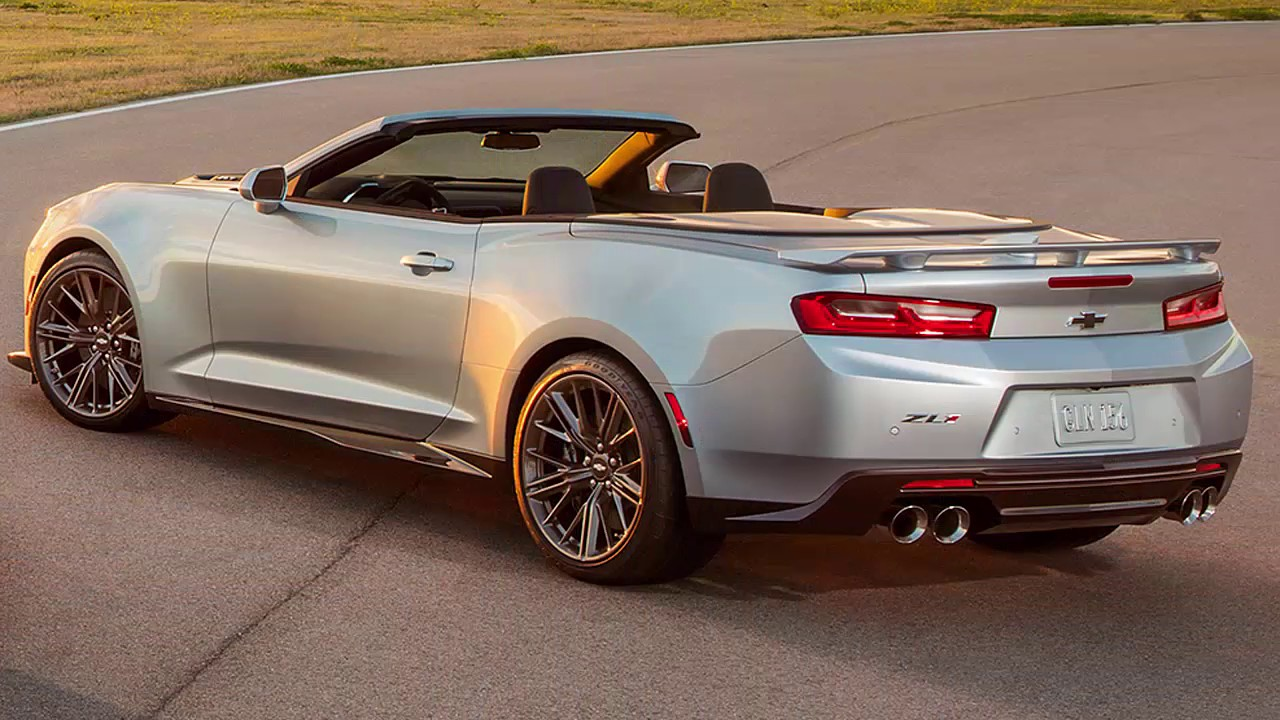 new 2017 chevrolet camaro zl1 convertible - youtube