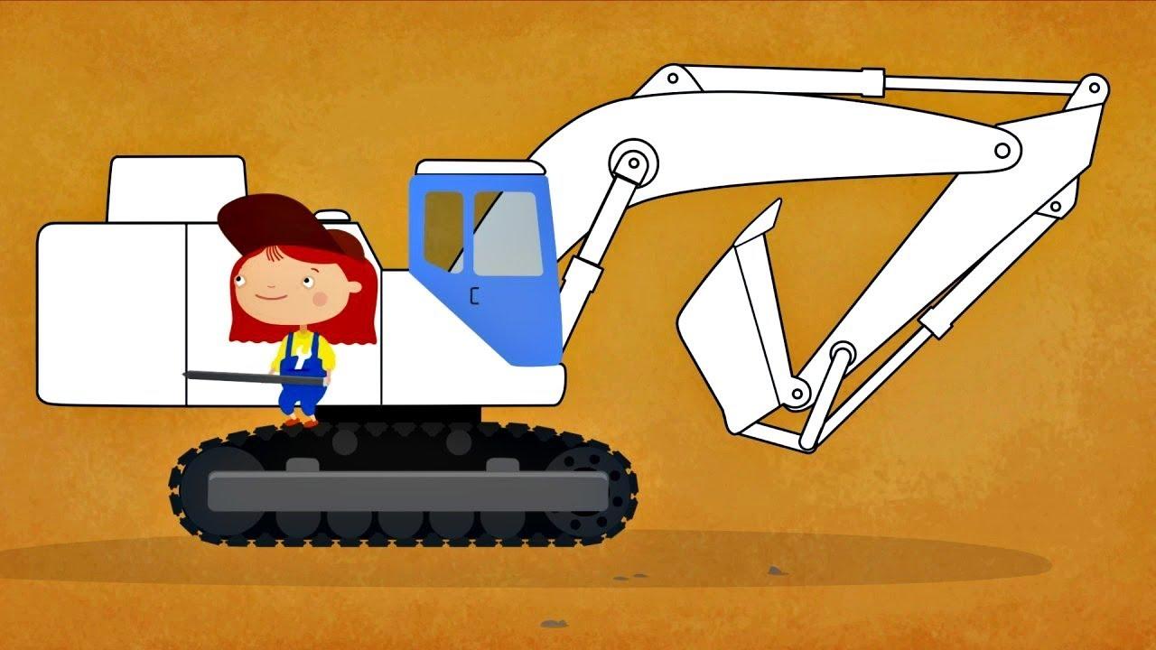 Coloriage Camion De Terre.Coloriage Avec Docteur Mcwheelie Dessin Anime En Francais Pour Enfants