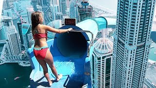 Video Top 10 TALLEST WATERSLIDES IN THE WORLD! download MP3, 3GP, MP4, WEBM, AVI, FLV Februari 2018