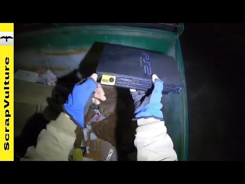 Treasure Hunting Dumpster Dive Style
