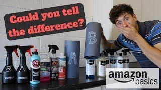 BLIND TEST : Cheap Amazon Basic £19 Kit Vs Premium Detailing Brands