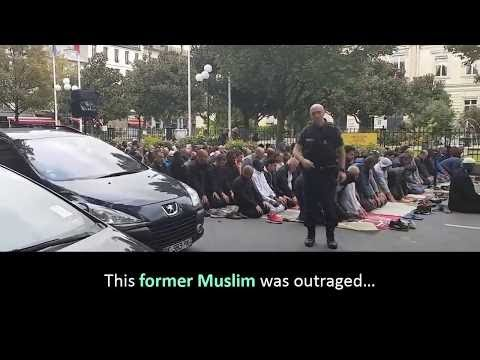 France: Violence erupts as protesters try to stop Muslims praying outdoors