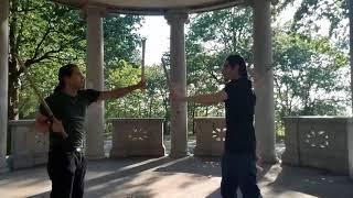 Sinawali and Peripheral drills