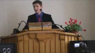 Conferinţa Naţională de tineret BER - Ploieşti (mesajul fr. Teodor Bazâru 1)