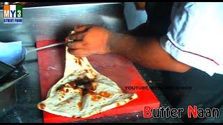 Butter Naan - Hyderabad Street Food