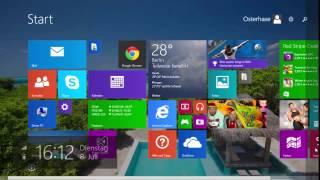 Windows 8 Farben ändern