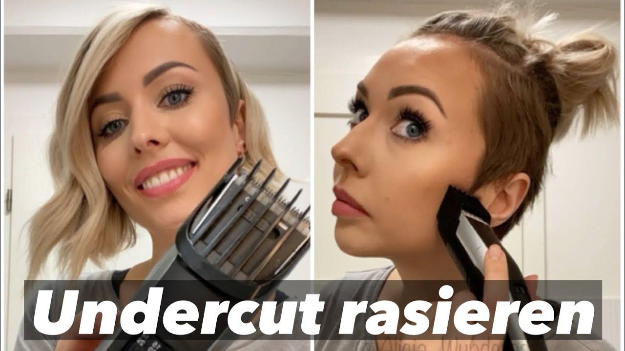 Haare selbst schneiden - Undercut rasieren | Alicia