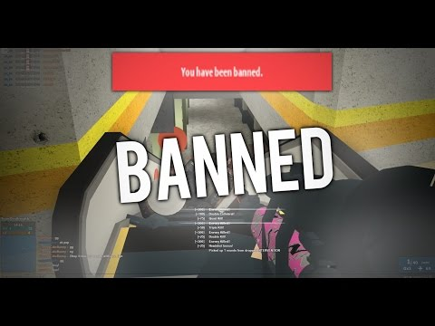 I ACTUALLY GOT BANNED IN PHANTOM FORCES... (read ...