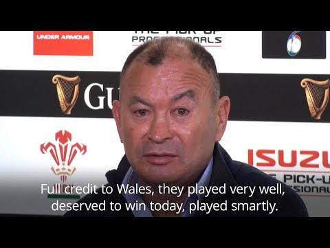 Eddie Jones - 'Wales Deserved To Win' - Six Nations 2019