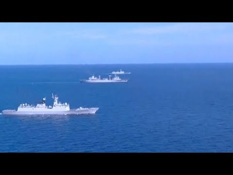 China's 29th naval fleet conducts drill in Indian Ocean