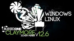 How To Mine ZCash With NEW Claymore Miner V12.6