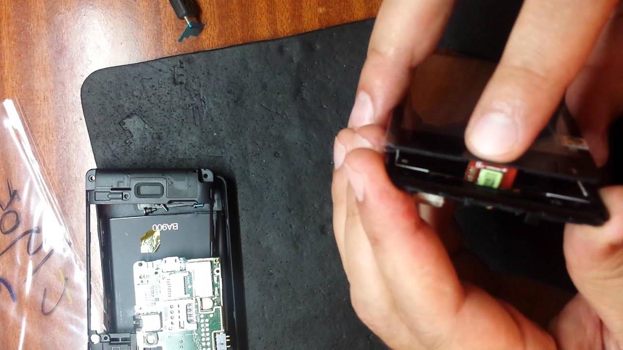 Sony Xperia T3 D5103 как разобрать, ремонт, замена дисплея и .