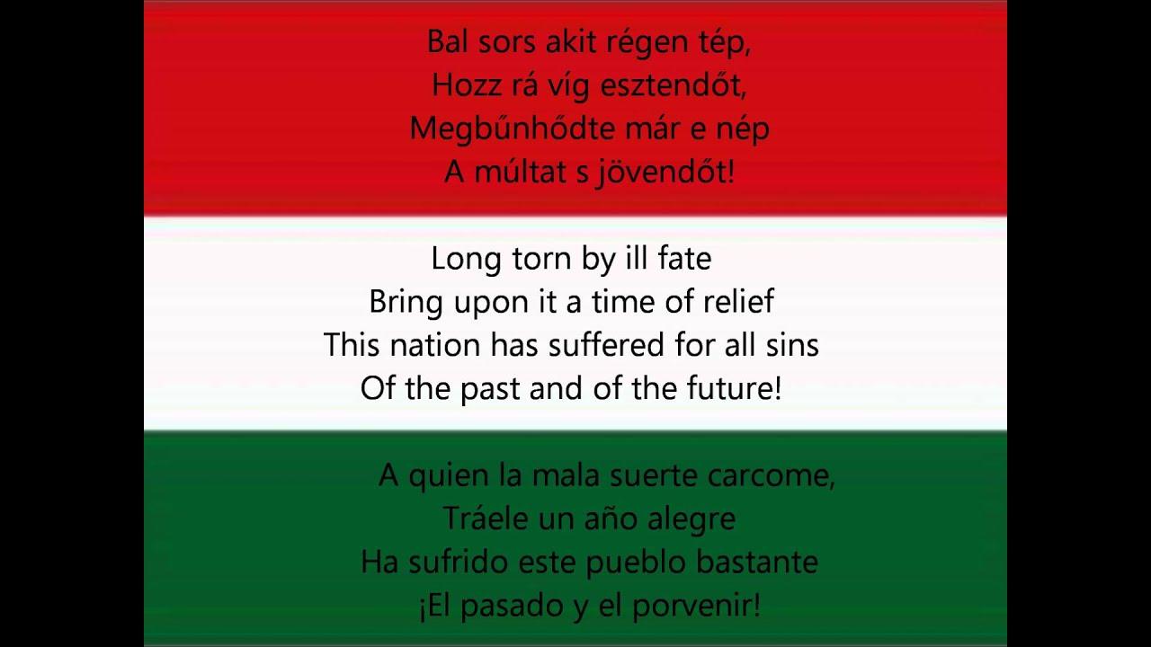 Download National anthem of Hungary - Himnusz (HU/EN/ESP lyrics)