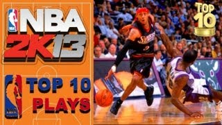 NBA 2K13 TOP 10 CROSSOVERS of the WEEK vol 2