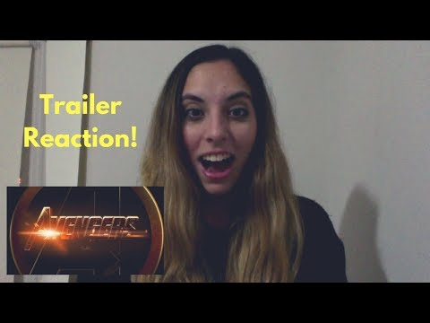 AVENGERS - INFINITY WAR TRAILER #1 REACTION!