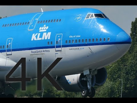 223 MIN HEAVY Plane Spotting, Close Up - 4K