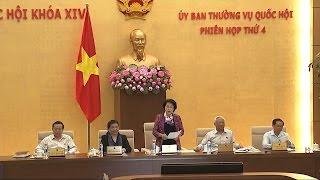 Bế mạc phiên họp thứ 4, Ủy ban Thường vụ Quốc hội khóa XIV