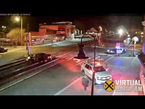 Train vs. Car at Ashland!