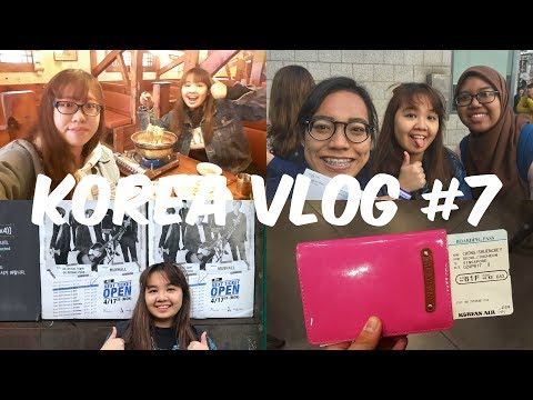 2017 KOREA VLOG #7 (MUSIC BANK ROUND 2, HONGDAE, SINCHON, EVERY DAY6 CONCERT IN APRIL)