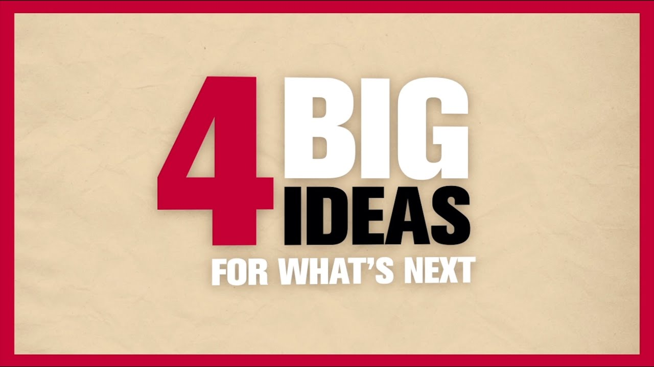 what s the big idea a student s The big idea: it's time to reimagine what counts as literature in america the implications: broadening our scope changes what we read and how we read it, wisecup says the creative storytelling that we find in unexpected places, for example, complicates our view of the past as a time of removal and loss for native americans.