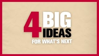 Teaching and Learning: Four Big Ideas for What