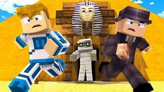 DOPADŁA NAS MUMIA!!!    Minecraft Wehikuł Czasu #2