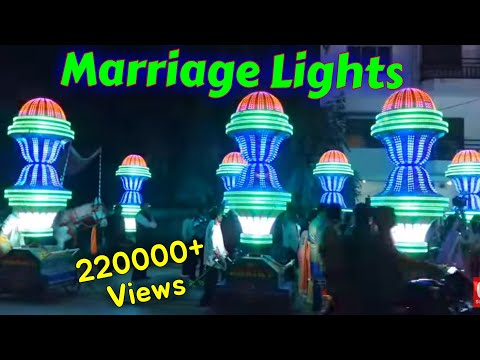 Allahabad marriage(barat) mast lighting