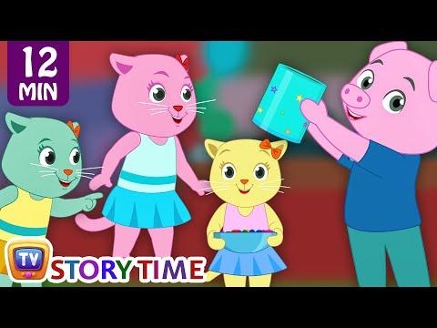 Three Clever Kittens | Cutians Cartoon Comedy Show For Children | ChuChu TV