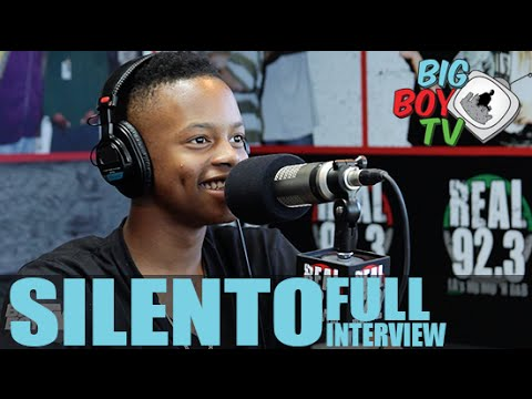 Silento FULL INTERVIEW | BigBoyTV