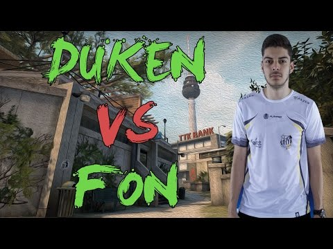 CSGO: POV paiN dukeN vs FakeOut Nation (33/16) overpass @ ECS Season 2 NA Development League