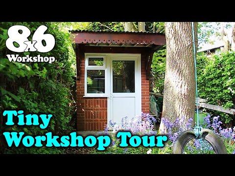 Tiny 8x6 workshop tour!