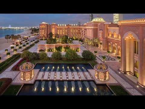 Emirates Palace Hotel Abu Dhabi 2019 ($3 BILLION DOLLAR HOTE