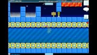 parkour with cheats !!! growtopia first video