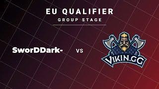 SworDDarK- vs Vikin.gg Game 1 - DreamLeague S13 EU Qualifiers: Group Stage