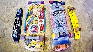 THE OLDEST SKATEBOARDS IN BRAILLE HISTORY?!