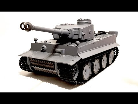 HENG LONG German Tiger I RC Tank Review (Revised)