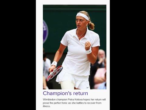 Wimbledon: Petra Kvitova hoping return to All England Club can reignite major form