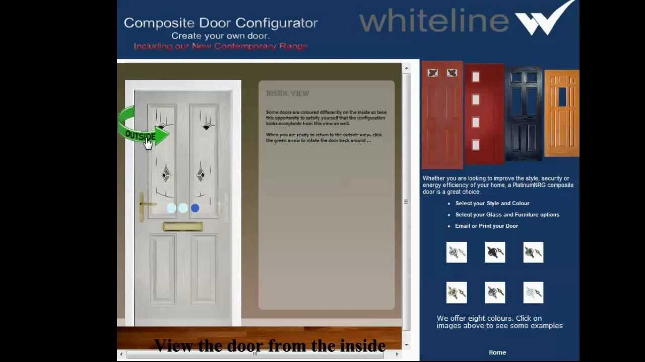 Whiteline Manufacturing Door Configurator & Whiteline Manufacturing Door Configurator - YouTube