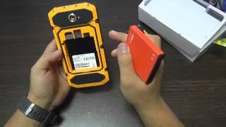 NO 1 X6800 Смартфон с батареей 6800 мАч и