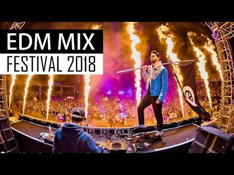 EDM Festival Mix 2018  Electro House & Bigroom Music
