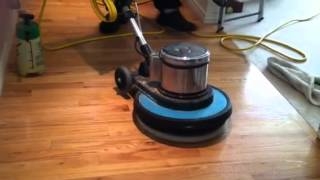 Wood Floor Cleaning