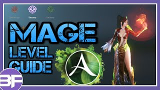 ArcheAge Level Guide - Mage (skill choices)