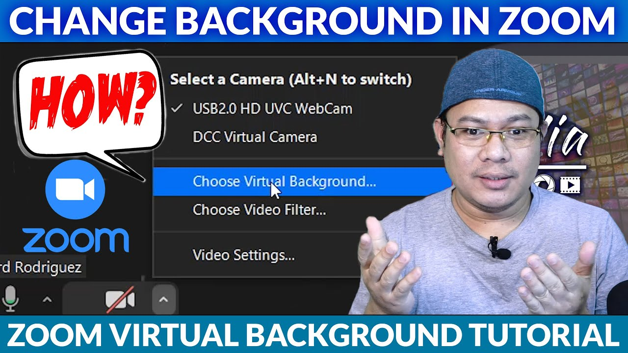 How To Change Your Background In Zoom Zoom Virtual Background Youtube