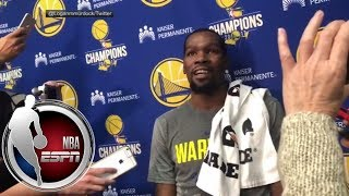 Kevin Durant on Rockets Clint Capela You shouldn t talk when your job is so easy NBA