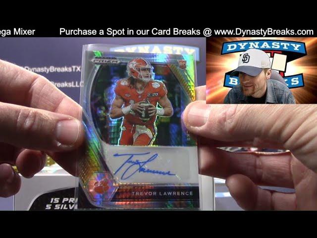 2021 Prizm Draft Picks Football 4 Box Quarter Case Break #5   Sports Cards