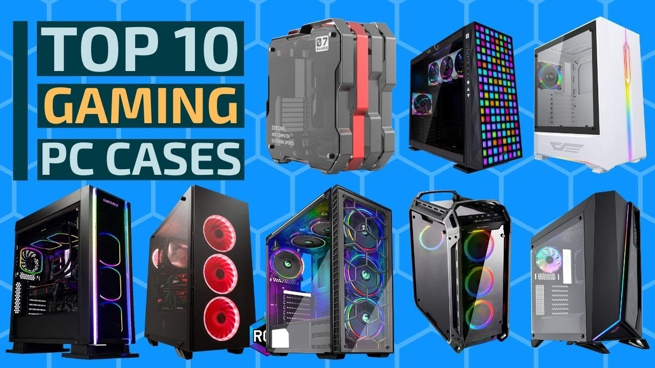 Top 10: Best Gaming PC Cases of 2020 / Computer Cases for Gaming with LED Lighting, Tempered Glass