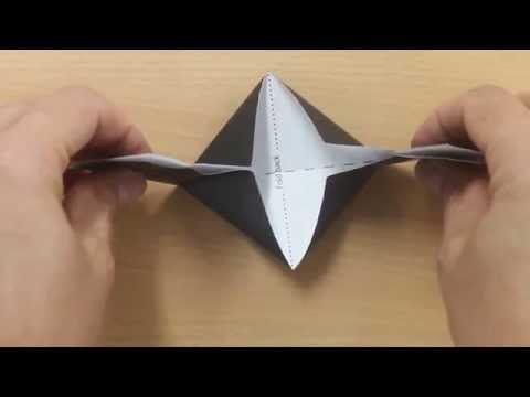 Make your own origami mortarboard (graduation cap)