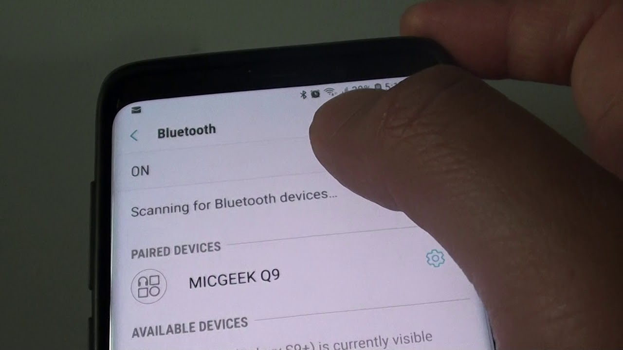 Samsung Galaxy S9 Plus: How to Change Phone / Media Audio Output for Paired  Bluetooth